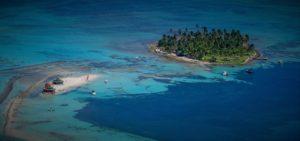 Johnny Kay y acuario, isla de San Andrés