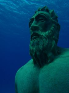 La cara de Poseidón, la isla de San Andrés