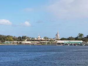 Magic Kingdom desde el ferry
