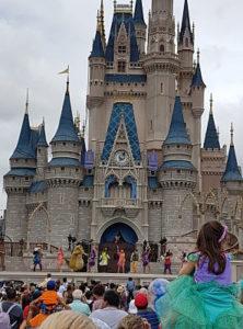 Show en el castillo