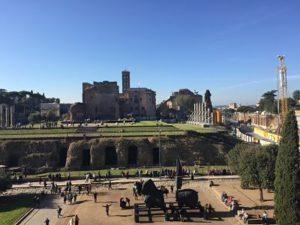 Foro Romano y monte Palatino