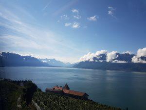 Paisaje suizo con los Alpes al fondo, Los paisajes más hermosos