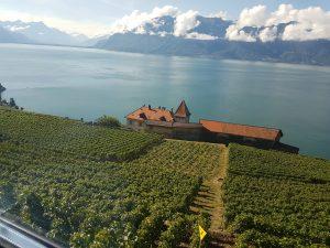 Paisaje suizo llegando a Vevey, Los paisajes más hermosos