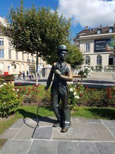 Charles Chaplin, Vevey