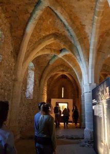 Dentro del Castillo de Chillón