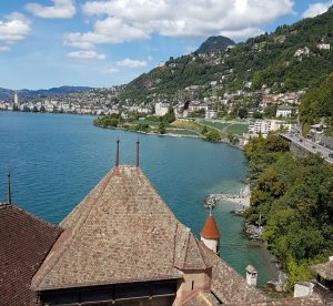 Montreux desde Castillo de Chillón
