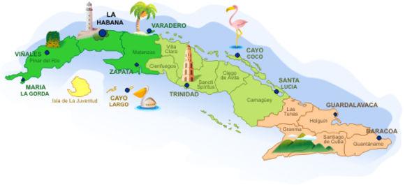 Cuba, País de contrastes y bellezas