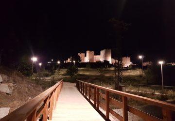 Ávila en la noche
