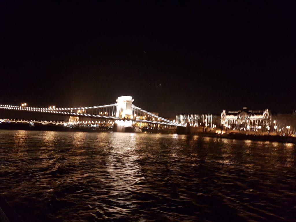 Vista desde crucero Budapest