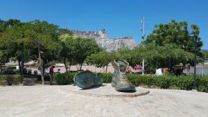 Cartagena de Indiss en pandemia, zapatos viejos