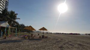 Cartagena de Indias, playa Morros