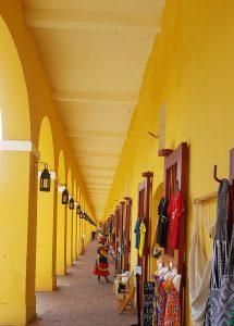Cartagena de Indias, Bóvedas tiendas