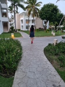 Senderos del hotel